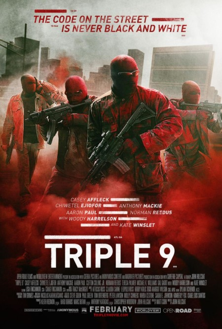 Cartel de Triple 9