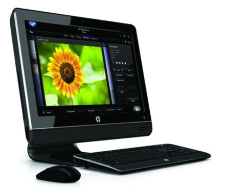 HP TouchSmart 310, sobremesa táctil para todos los públicos
