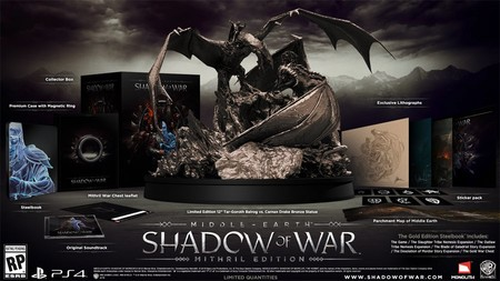 Reveladas Las Cuatro Ediciones De Middle Earth Shadow Of War
