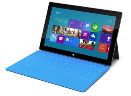 Microsoft Surface, diseño en estado puro
