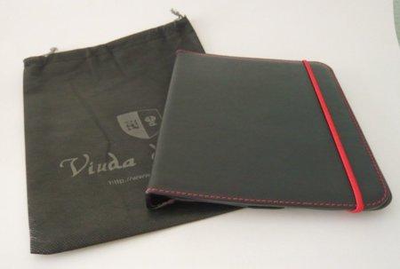 Viuda de Zaera, la funda de piel elegante para iPad