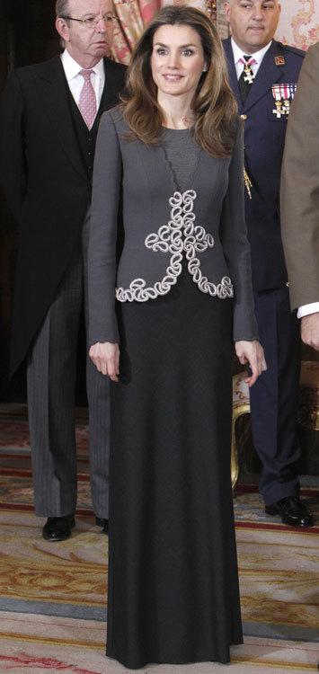 El look de la Princesa Letizia en la Pascua Militar