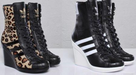 Botas Adidas para ellas, de Jeremy Scott