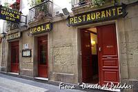 Restaurante Casa Urola, en San Sebastián-Donostia