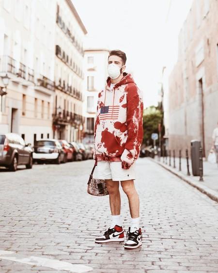 Prince Pelayo Diaz Short Ancho Pantalon Corto Trendencias Hombre Street Style 10