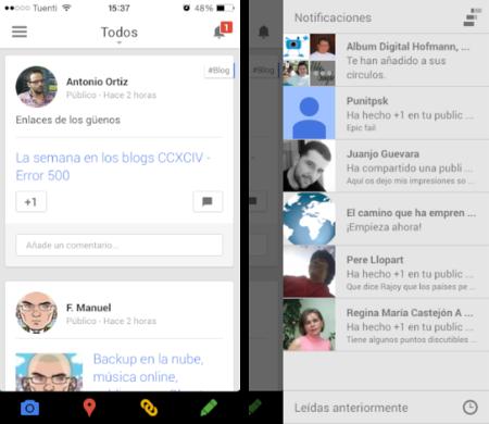 Google+ se actualiza para iOS 7 y nos permite subir nuestras fotografías a plena resolución