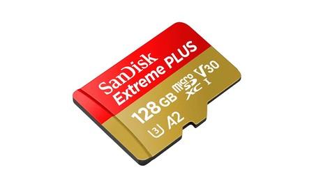 No te faltará espacio en tu smartphone con los 128 GB de la SanDisk Extreme MicroSDXC de 128 GB que hoy Amazon te deja por sólo 38,99 euros
