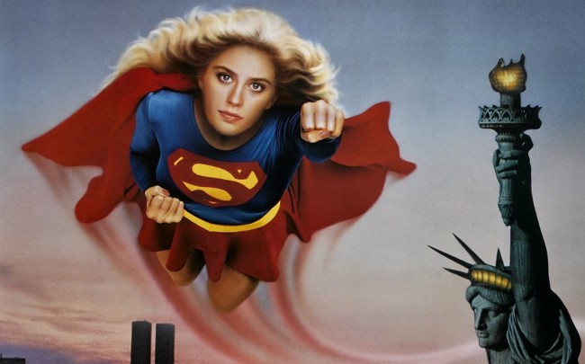 Cartel Supergirl