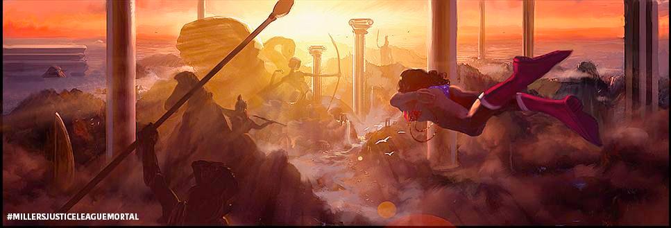 Foto de 'Justice League Mortal', arte conceptual (2/3)