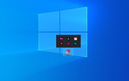 Windows 10 Desktop Icon Groups