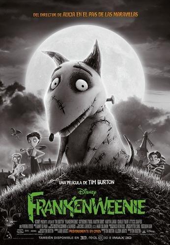 'Frankenweenie', cartel final de lo nuevo de Tim Burton