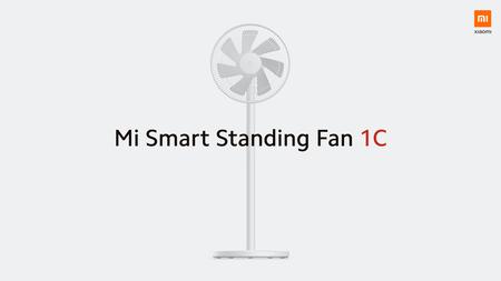 Xiaomi Mi Smart Standing Fan 1C: minimalismo para un ventilador que podrás controlar desde el móvil o con un asistente de voz