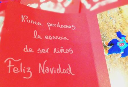 Postal De Navidad Con Mensaje