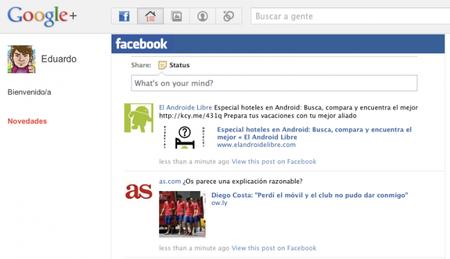 Google+Facebook, ni tardos ni perezosos