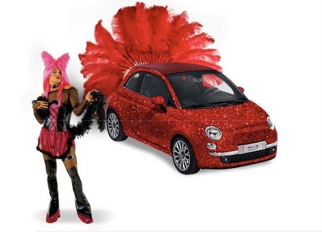 Fiat 500 orgullo gay