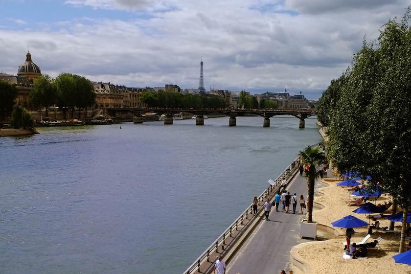 Paris Plage: en París sí hay playa