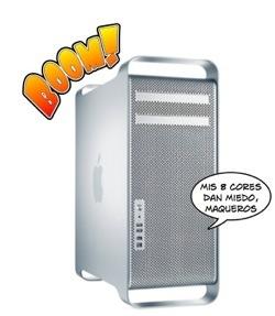 Comparativa de los Mac Pro 8cores: Potencia en estado puro