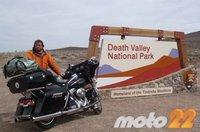 En moto por el Oeste Norteamericano (6): La magia del desierto en Death Valley