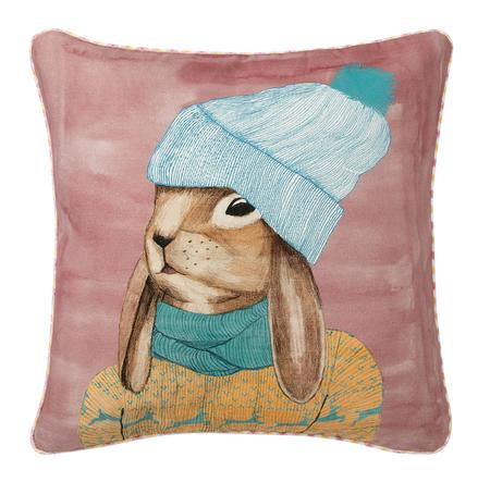 Cojín decorativo conejo