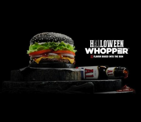 Burger King Halloween Whopper Main
