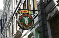 Coffee shops sin turistas en Holanda