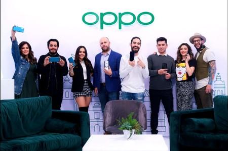 OPPO presentación en México