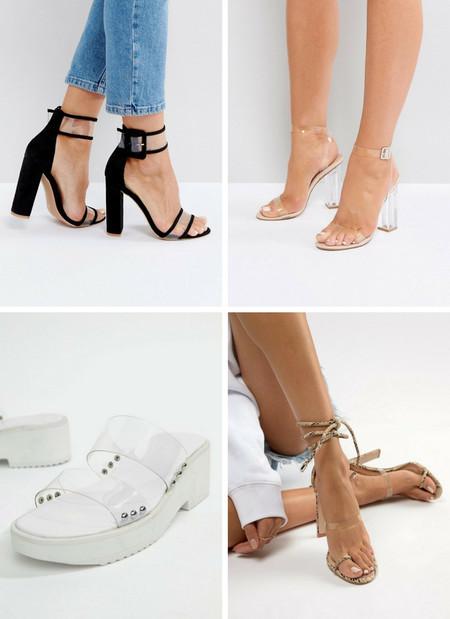 3de706a3c3a54 Los 26 zapatos y sandalias transparentes low-cost que toda fan del ...