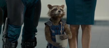 Rocket con el nuevo Groot