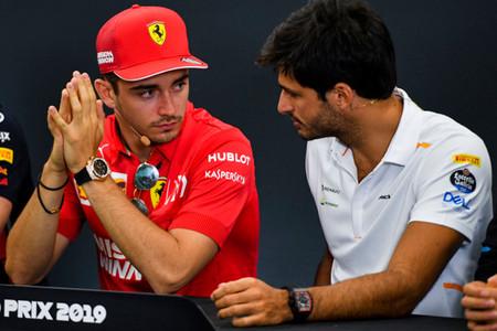Sainz Leclerc F1 2019