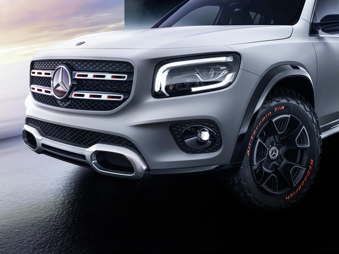 Foto de Mercedes-Benz GLB Concept (6/26)