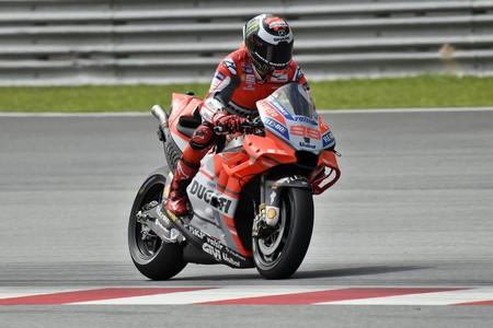 Las Ducati oficiales dan un paso al frente: Lorenzo y Dovizioso están encantados con la GP18