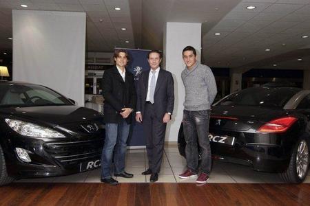 David Ferrer y Nicolás Almagro conducirán Peugeot RCZ