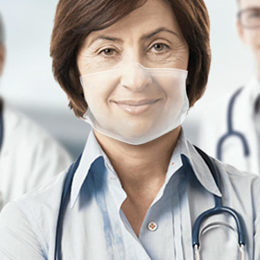 Así serán las mascarillas quirúrgicas transparentes que filtran virus y bacterias a la vez que dejan ver la sonrisa