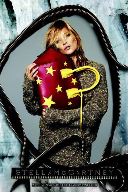 Kate Moss vuelve 5 años después como imagen de Stella McCartney otoño-invierno 2014