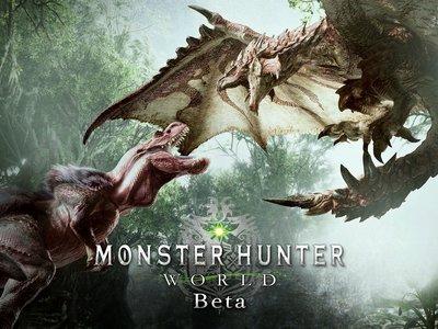 Monster Hunter World tendrá una nueva beta, aunque esta vez abierta para todos los jugadores de PS4