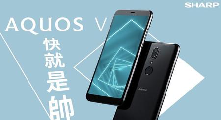 """Sharp AQUOS V, el nuevo """"gama alta"""" japonés con Snapdragon 835 y cámara dual de 13+13 megapíxeles"""