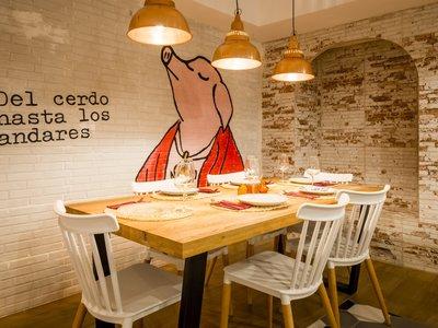 La Porcinería: un restaurante dedicado en exclusiva al cerdo (en buena compañía)