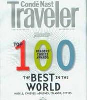 Lo mejor de lo mejor según Condé Nast Traveler