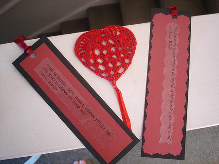 Marcapáginas para las lecturas familiares, o para regalar