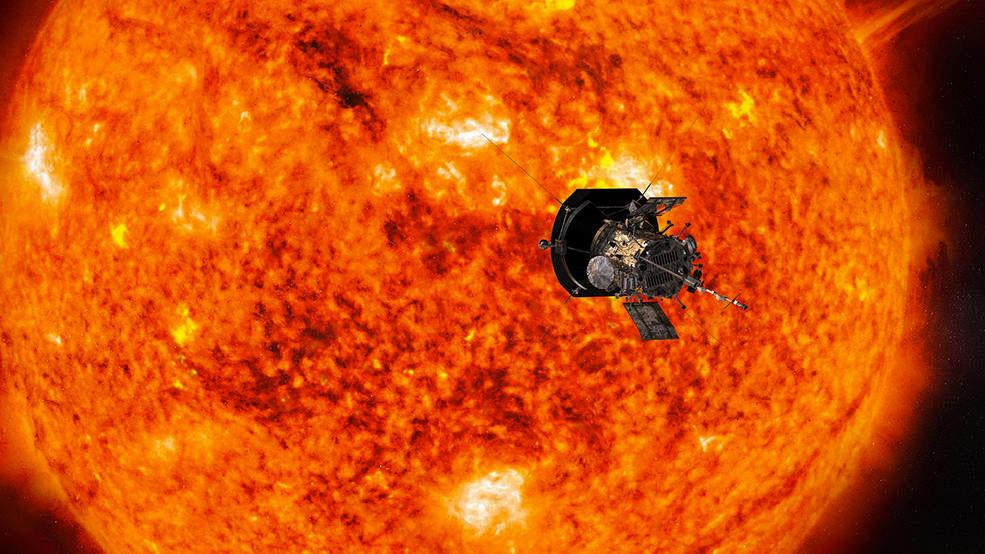 La sonda Parker completa la primera fase de su viaje al Sol batiendo récords y