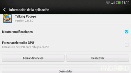 Un extraño fallo en la actualización del HTC One X