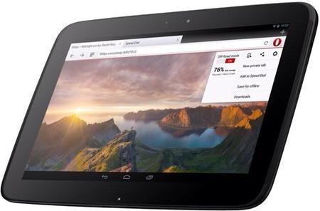 Opera ya cuenta con versión específica para tablets Android