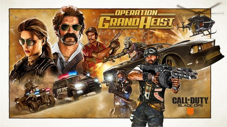 CoD: Black Ops 4 suma mañana un auténtico ciclón de contenidos y novedades con la Operación Gran Golpe