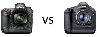 Diferencia de ruido entre la Nikon D3s y la Canon EOS 1D Mark IV a 102.400 ISO