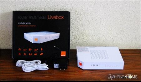 Nuevo Livebox unboxing