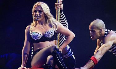 Britney Spears y el fan loco que quiso bailar con ella