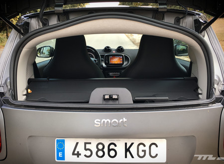 Smart Fortwo EQ maletero
