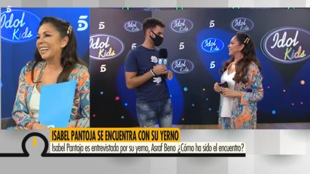 """Isabel Pantoja y su yerno Asraf: """"El moreno baila, el moreno ríe"""", el moreno quiere que la Pantoja con su hija le deje que se líe"""