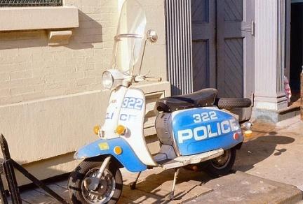 Las Lambrettas de la Policía de Nueva York