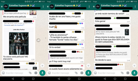 69c9fb84ca6f Me he infiltrado un mes en grupos de WhatsApp de anoréxicas y ...